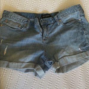 Banana republic jean shorts